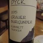 Foto zu Dyck's Weinstube: Dyck's Grauer Burgunder