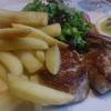 Filet vom Landschwein (16,50€) + Steakhouse-Pommes  (3€)