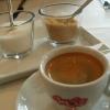 Espresso lungho mit zweierlei Zucker