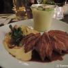 Entenbrust mit Chicorée und Kartoffel-Lauch-Mousseline