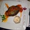 Gefüllte pikante Aubergine (vegetarisch)