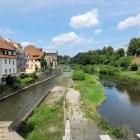 Foto zu Vierradenmühle Görlitz: 12.08.21 Blick von der Terasse