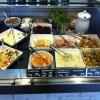 Angemachte Salate und Zutaten