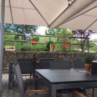Foto zu Vinothek Domäne Bergstraße - Weinterrasse im Rebmuttergarten:
