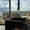 Terrasse aus Sicht der Lounge