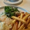 Fish and Chips :-) Steinbutt, Zander und Lachs