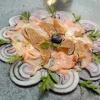 Rohes Kalbsfilet in Scheiben (Carne cruda)