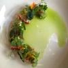 Bretonischer Hummer / Limonenvinaigrette / Gurke