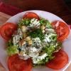 kleiner bunter Salat der Saison