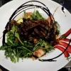 Salat mit Filetstreifen
