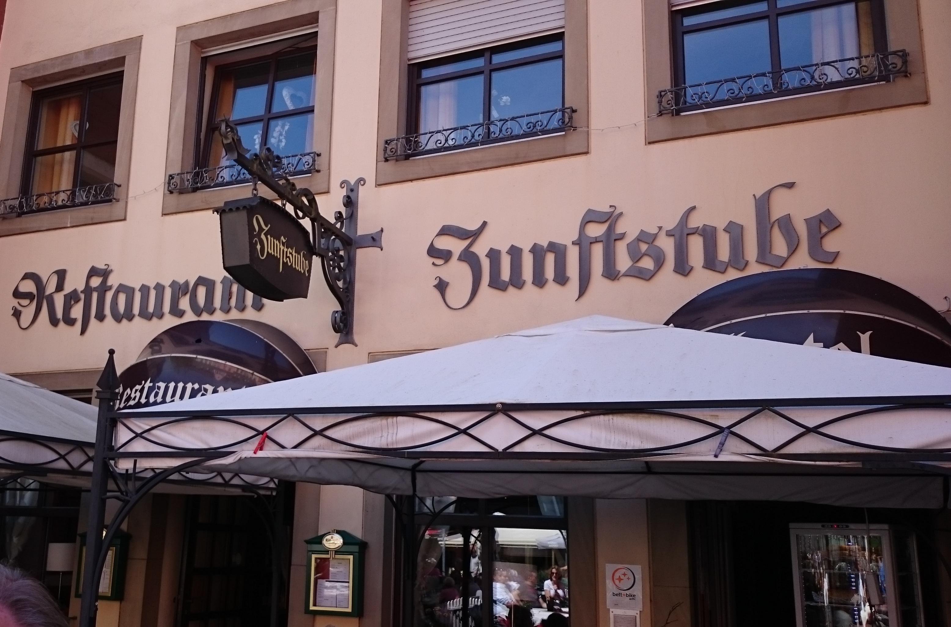 Zunftstube Restaurant Hotel In 54439 Saarburg