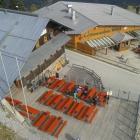 Foto zu Eisensteiner Hütt´n: Blick vom Aufzug/Bergstation