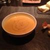 Kürbissuppe mit Gambas