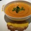 Fischsuppe, Croûtons mit Sauce Rouille