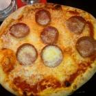 Foto zu Trattoria Piccante: Pizza Salami