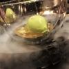 Pré-Dessert: Gurke / Zitronengras / Limettenblätter