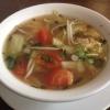 Canh Chua, Fischsuppe mit Garnelen