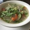 vegetarische Gemüsesuppe Canh Rau