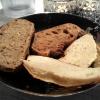 Gemischte Brotauswahl