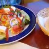 Gemischter kleiner Beilagensalat