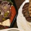 Spezia-Filet-Teller (Rest;-)) und Vorspeisenplatte