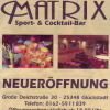 Neu bei GastroGuide: Matrix Sport- & Cocktailbar