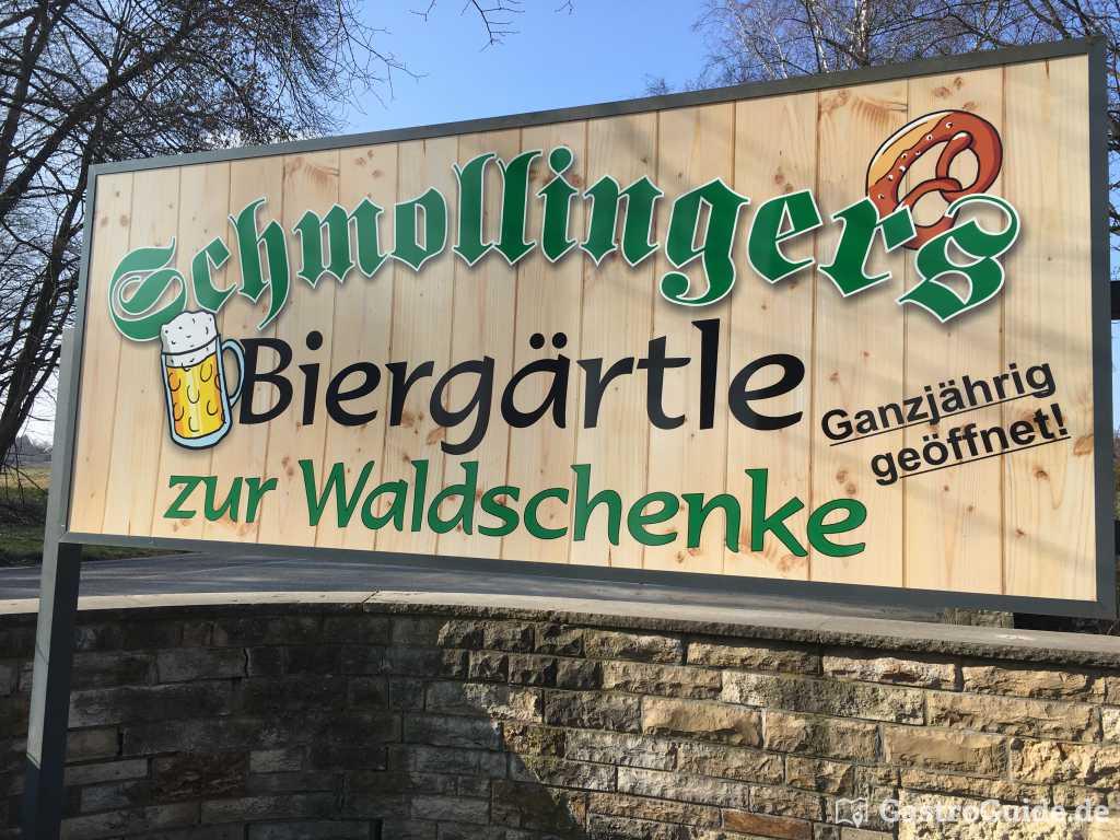 Schmollingers Biergärtle zur Waldschenke Restaurant, Biergarten ...