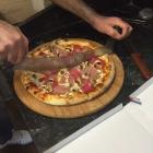 Foto zu Döner Welt: Schinken Champignon Pizza