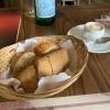 Brot / Tomaten-Dip