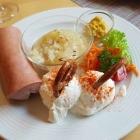 Foto zu Weingut Schilling: Mainzer Teller, Fleischwurst, Spundekäse, Handkäse u. Brot mit Butter