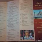 Foto zu Saini`s Indisches Restaurant: Speisekarte