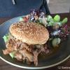 Holler Pulled Pork Burger