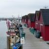 Der kleine Hafen am Restaurant