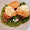 Lachstatar - Blinis - Forellenkaviar - Gurke