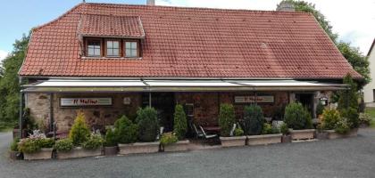 ristorante il mulino restaurant biergarten pizzeria in 97647 nordheim vor der rh n. Black Bedroom Furniture Sets. Home Design Ideas