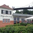 Foto zu Café Peters - Hafenbahnhof: Cafe Peters im Juli 2017