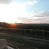 Der Ausblick von der Terrasse aus