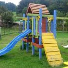 Foto zu Die bunte Kuh · Ebbelwoi-Straußwirtschaft ·  Bauernhof Rettig: Spielplatz