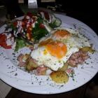 Foto zu Gasthaus im Hotel Rosenboom - Powers Pinte: Krabben mit Bratkartoffeln