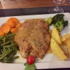 Saltimbocca alla romana mit Kalbfleisch, Parmaschinken und Salbei