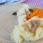 Foto zu Burrweiler Mühle · Weingut: Kartoffelstampf mit Gemüse zu den Kalbsnierchen
