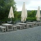 Foto zu Landgasthaus Wintringer Hof: Biergarten