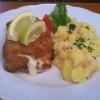 Cordon Bleu vom Schwein mit hausgemachtemKartoffelsalat
