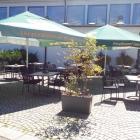 Foto zu Donauhirsch: Außenbereich