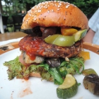 Foto zu Wümme Bäckerei Sammann: Veggie-Burger