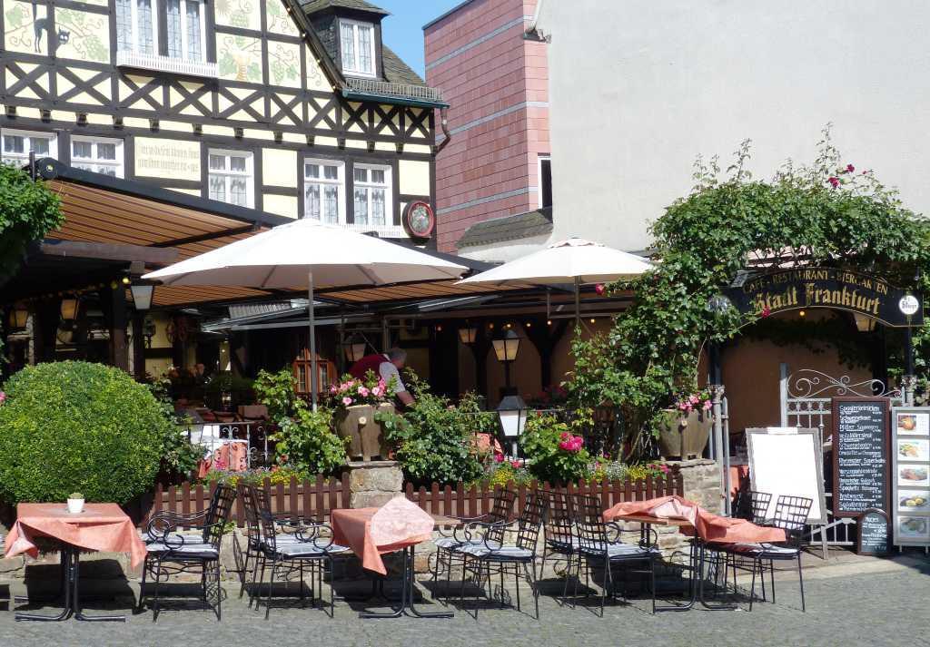 stadt frankfurt restaurant in 65385 r desheim am rhein. Black Bedroom Furniture Sets. Home Design Ideas