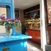 Übergang Wintergarten zum Caféraum