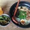 Ramen / Gurkensalat