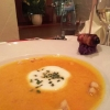 Kürbissuppe mit Croutons
