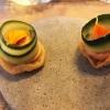 Apéro: Gurke, Karottencreme